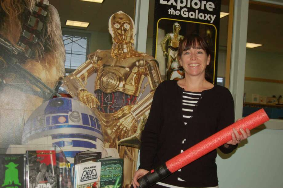 """Easton Public Library is holding a """"build your own lightsaber"""" class for aspiring Jedi """"younglings"""" grades 2 and up.Find out moreon the library's website."""