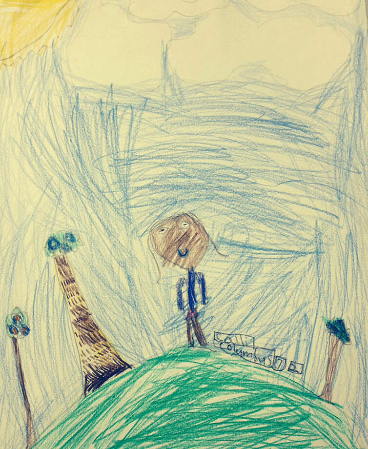 Today's Drawing: Calli Gilchrist, Columbus Magnet School, Grade 2.