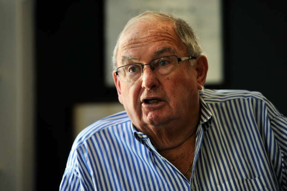 Lowell P. Weicker Jr. speaks during an interview at his home in Old Lyme, Conn., Aug. 5, 2014. Weicker served as Governor of Connecticut (1991-1995), was a U.S. Senator (1971-1989), and a U.S. Representative (1969-1971). He was also First Selectman for the Town of Greenwich, his former hometown. (Photo: Ned Gerard)