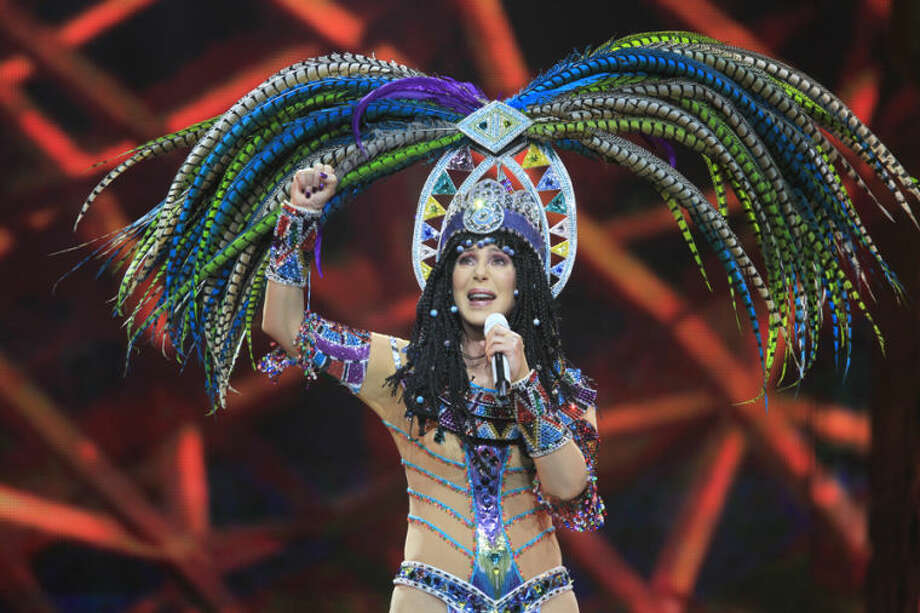 Cher performs on the D2K Tour at the First Niagara Center, Wednesday, April 23, 2014, in Buffalo, N.Y. (AP Photo/The Buffalo News, Harry Scull Jr.) TV OUT; MAGS OUT; MANDATORY CREDIT; BATAVIA DAILY NEWS OUT; DUNKIRK OBSERVER OUT; JAMESTOWN POST-JOURNAL OUT; LOCKPORT UNION-SUN JOURNAL OUT; NIAGARA GAZETTE OUT; OLEAN TIMES-HERALD OUT; SALAMANCA PRESS OUT; TONAWANDA NEWS OUT