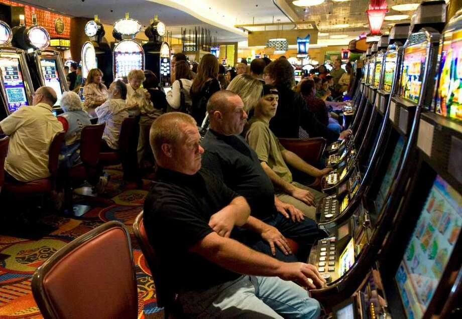 Failed-Gambling Study: A proposal to study the impact of allowing a third casino in Connecticut died in committee. Meanwhile, the two federally recognized tribes did not submit a proposal for legislation approval to open their proposed jointly owned, third casino to compete with the MGM Resorts International casino in Springfield, Massachusetts, saying they'll return with a site next year.(AP Photo/Douglas Healey, File)