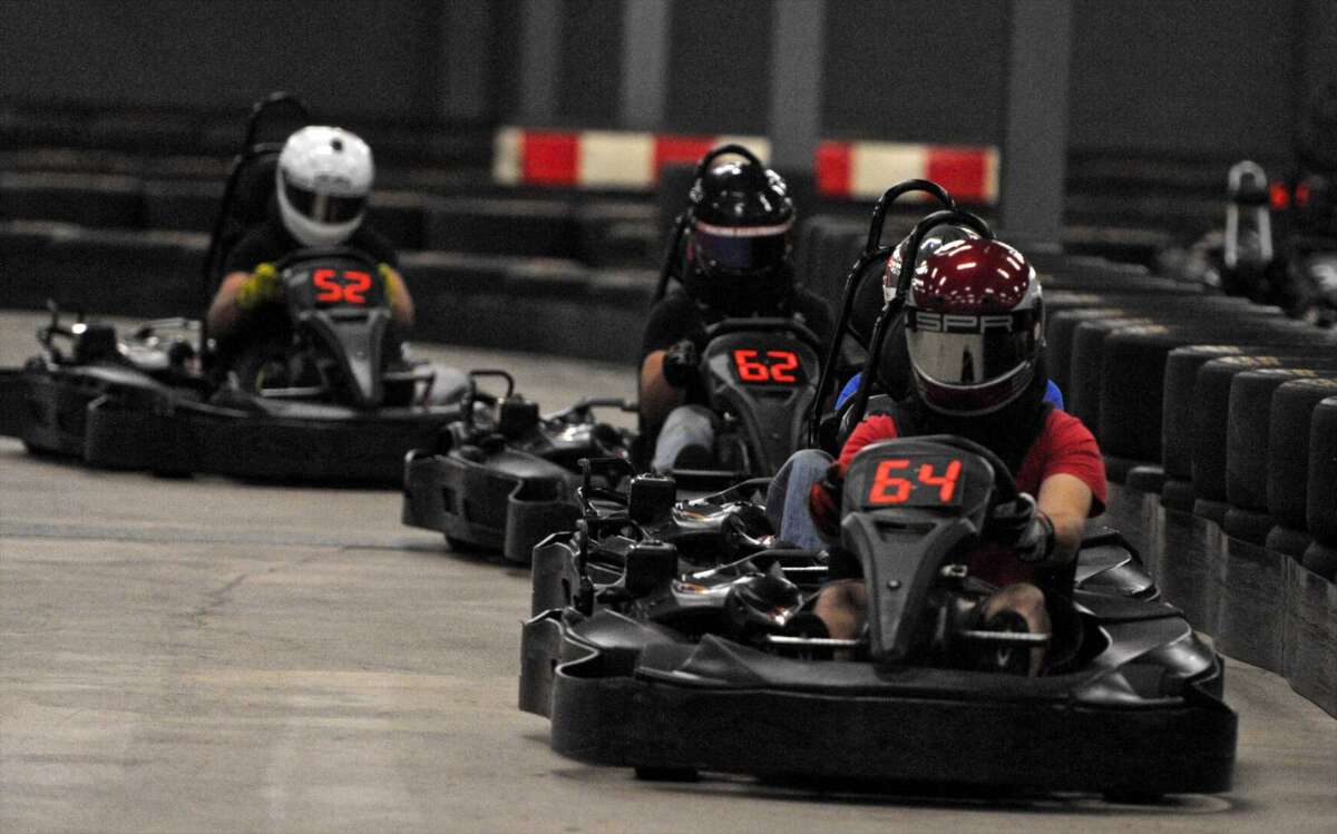 Buckle up for racing On Track Karting featuresone of the longest and fastest indoor tracks in the country. On Track Karting100 Silvermine Rd, Brookfield, CT