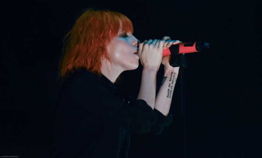 Hour photo/John Nash - The band Paramore played at the Mohegan Sun Arena on Saturday, May 9, 2015.