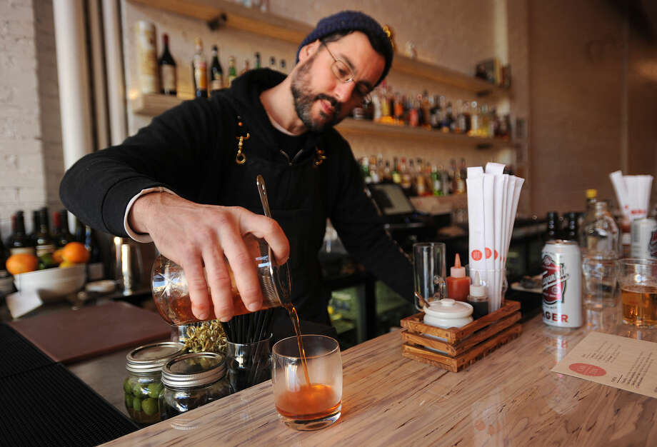 You don't have to hop on a Manhattan-bound Metro North train to find a cool bar scene; restaurant review site Open Table surveyed its users to find the most vibrant bar scenes in Connecticut.Check them out here:http://bit.ly/23NMovc Photo: Brian A. Pounds