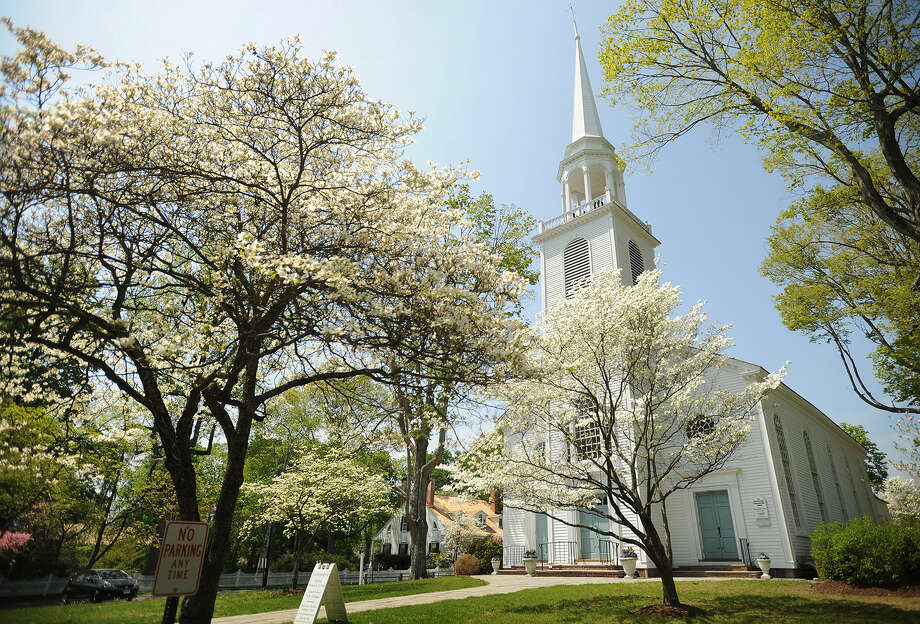 Get out and enjoy music, crafts, plants and a large arts festival at the Dogwood Festival at Greenfield Hill Congregational Church in Fairfield onFriday,Saturday, andSunday. (Photo:Brian A. Pounds)
