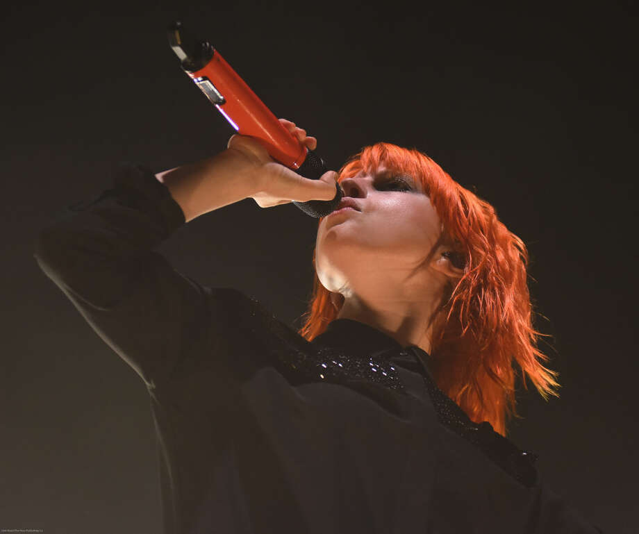 Hour photo/John Nash - The band Paramore played at the Mohegan Sun Arena on Saturday, May 9, 2015.
