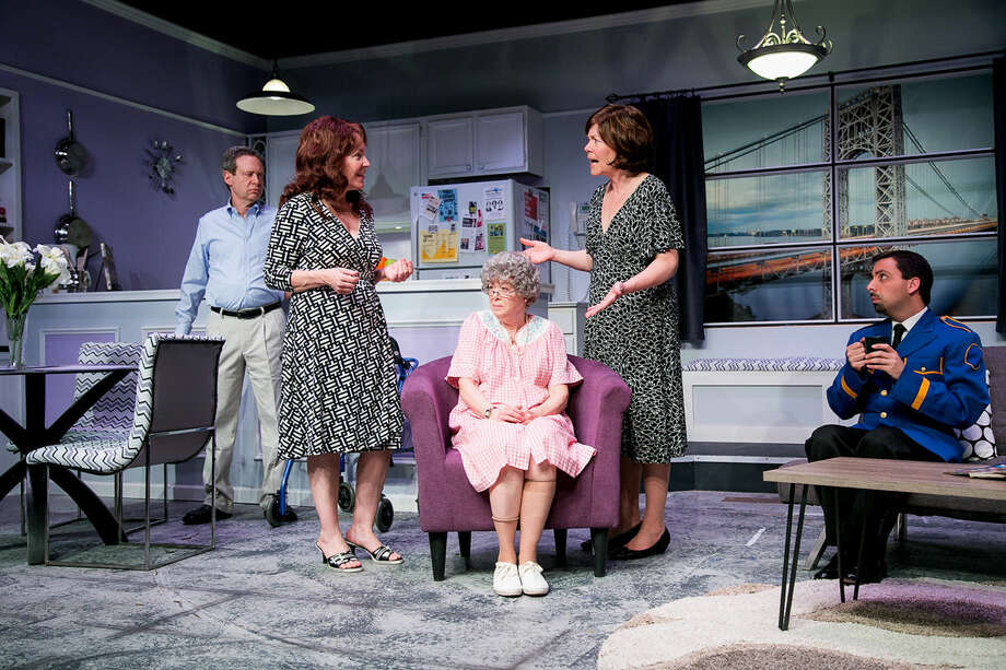 """""""The Tale of The Allergist's Wife"""" is on stage at TheatreWorks New MilfordthroughSunday."""