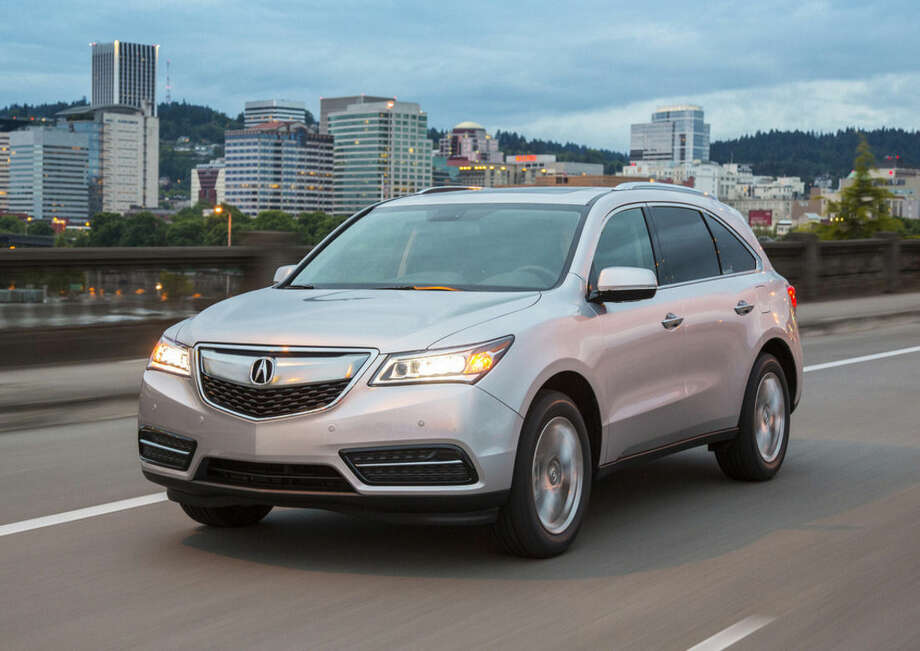 This undated image provided by Acura shows the 2016 Acura MDX. (AP Photo/Acura)