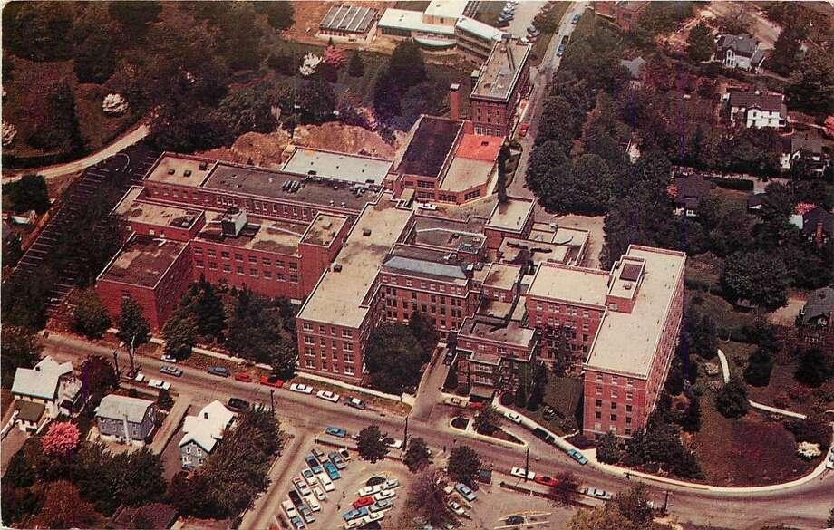 The Norwalk Hospital - 1960 Postcard