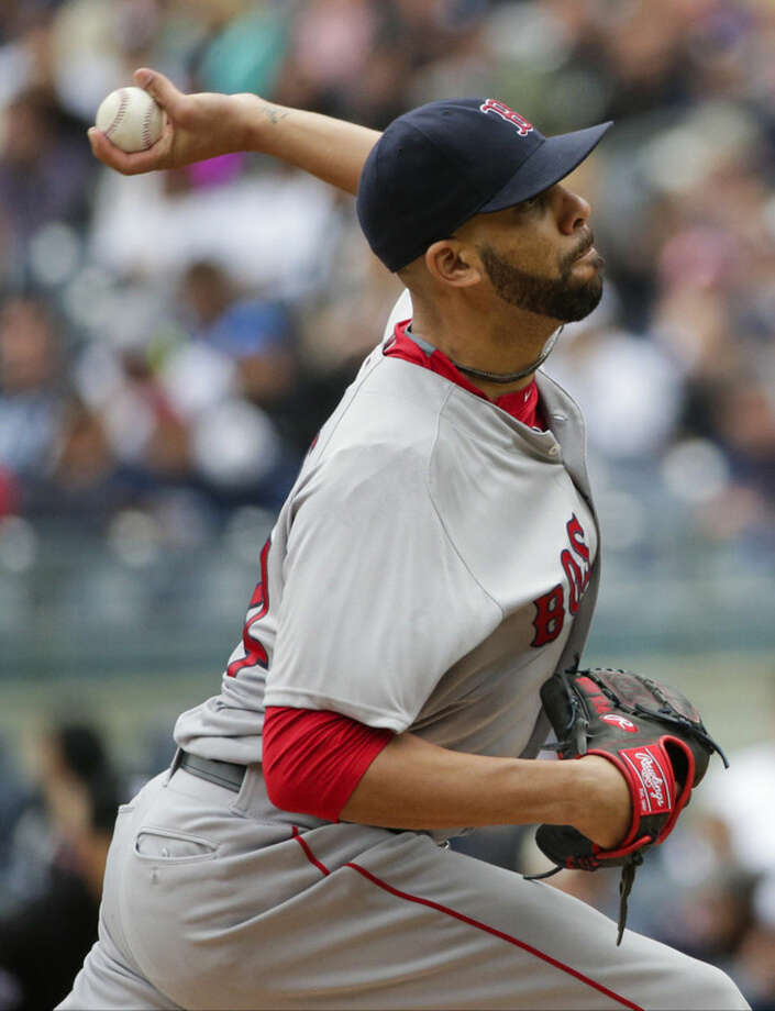 Boston Red Sox's David Price delivers a pitch during the first inning of a baseball game against the New York Yankees Saturday, May 7, 2016, in New York. (AP Photo/Frank Franklin II)