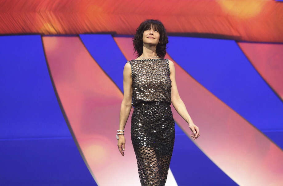 Actress Sophie Marceau during the opening ceremony at the 68th international film festival, Cannes, southern France, Wednesday, May 13, 2015. (AP Photo/Thibault Camus)