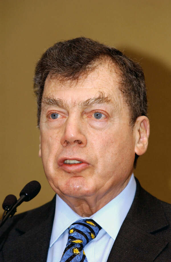 FILE - In this Jan. 10, 2005 file photo, World Jewish Congress President Edgar M. Bronfman addresses the Plenary Assembly of the World Jewish Congress assembled in a hotel in Brussels. Bronfman, a Canadian born billionaire and longtime World Jewish Congress president died Saturday, Dec. 21, 2013, in New York, at the age of 84. (AP Photo/Thierry Charlier, File) ORG XMIT: NY107