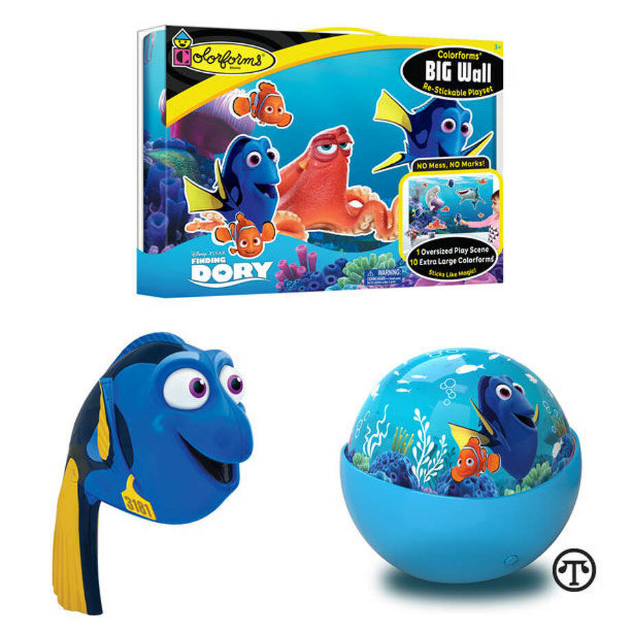 Families can have fun watching a movie about a fish and playing with a shoal of related toys. (NAPS)