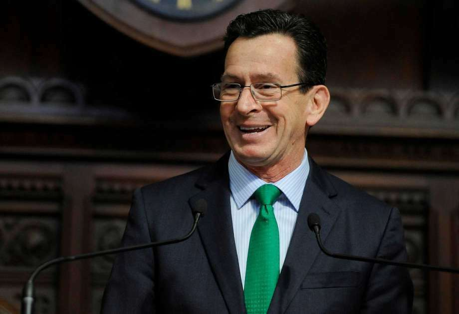 Gov. Dannel P. Malloy used his line-item veto authority to adjust the upcoming state budget. If he succeeds without an override, it will be the first time since 1971 that such a tactic succeeded. (Photo: Jessica Hill / AP Photo)
