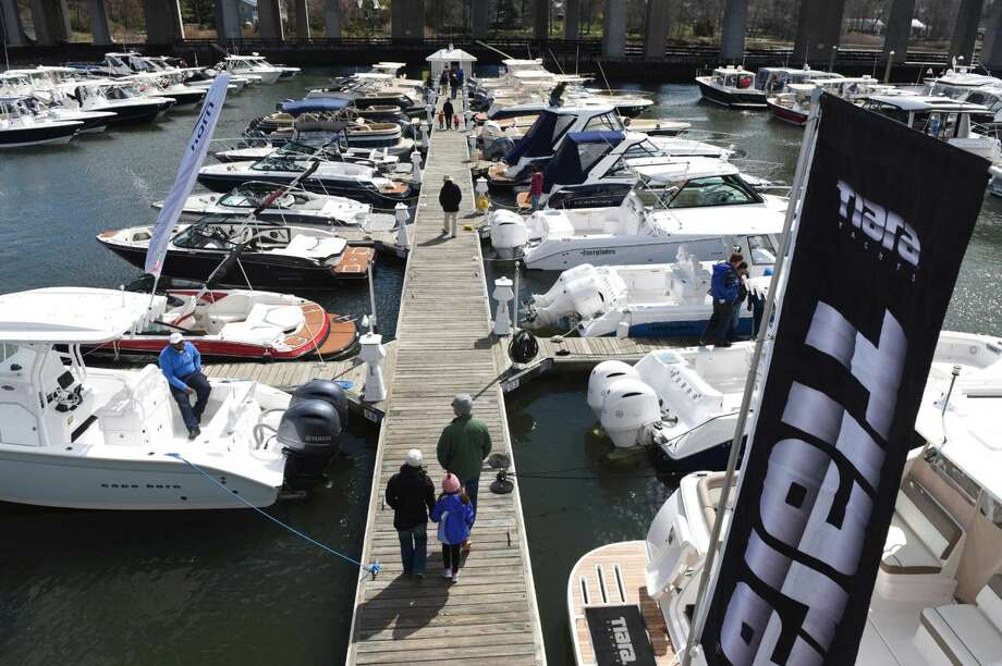 Check out the newest and coolest in boats at the Connecticut Spring Boat Show Friday, Saturday, and Sunday at the Brewer Essex Island Marina in Essex.