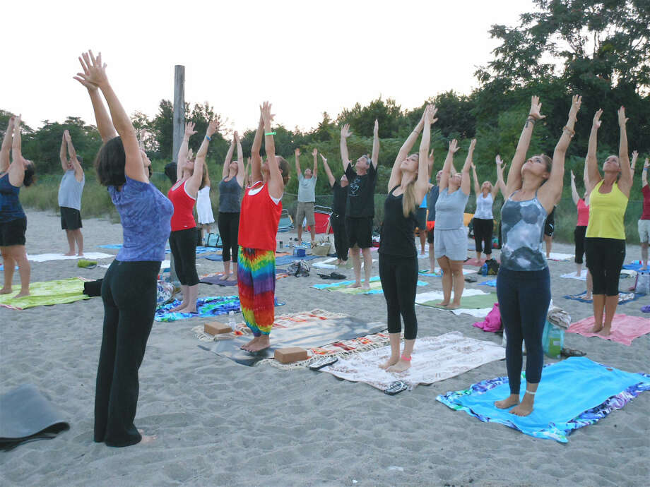LifePath Yoga & Wellness will hold a beach yoga session at Calf Pasture Beach in Norwalk on Saturday.