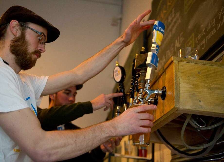 Have your pick of more than 75 craft beer samples at the third Annual Ninety9Bottles Craft Beer Festival at Oyster Shell Park in Norwalk onSaturday. Photo: File Photo