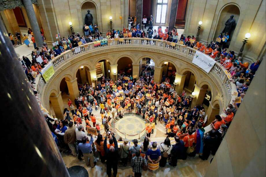 5. Minnesota -Percentage of Elected State Officials Who Are Women: 33.33 Percent;Total Number of Female Elected Officials in State Legislature: 67 Women;Total Number of Seats in State-Level Politics: 201 Seats