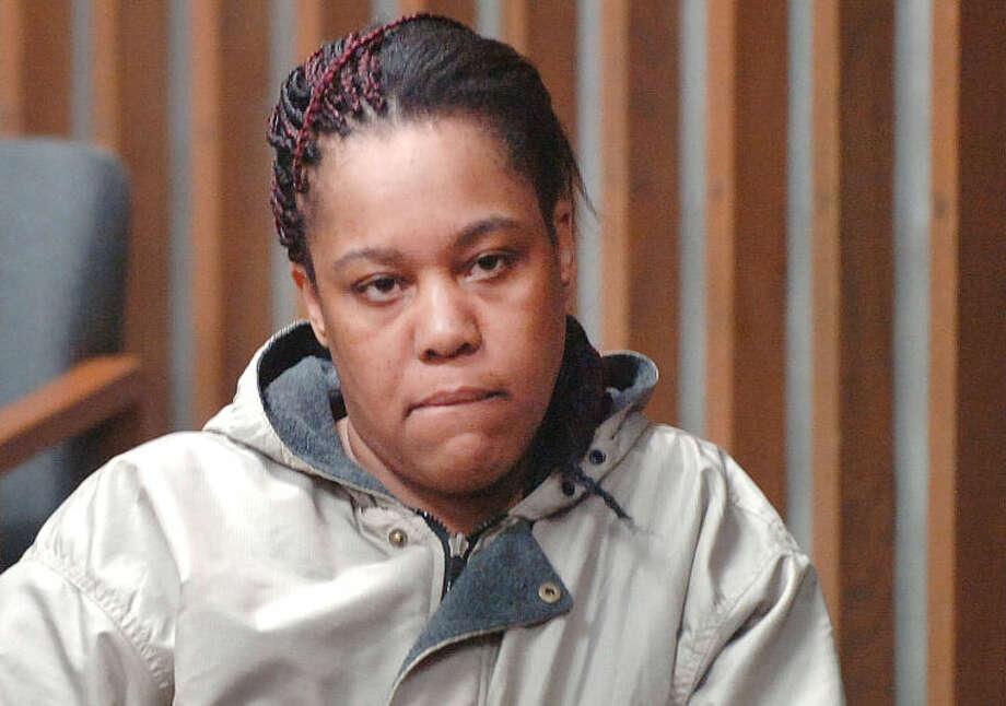 Hour Photo/Alex von Kleydorff Samantha Pinto in Norwalk Superior Court