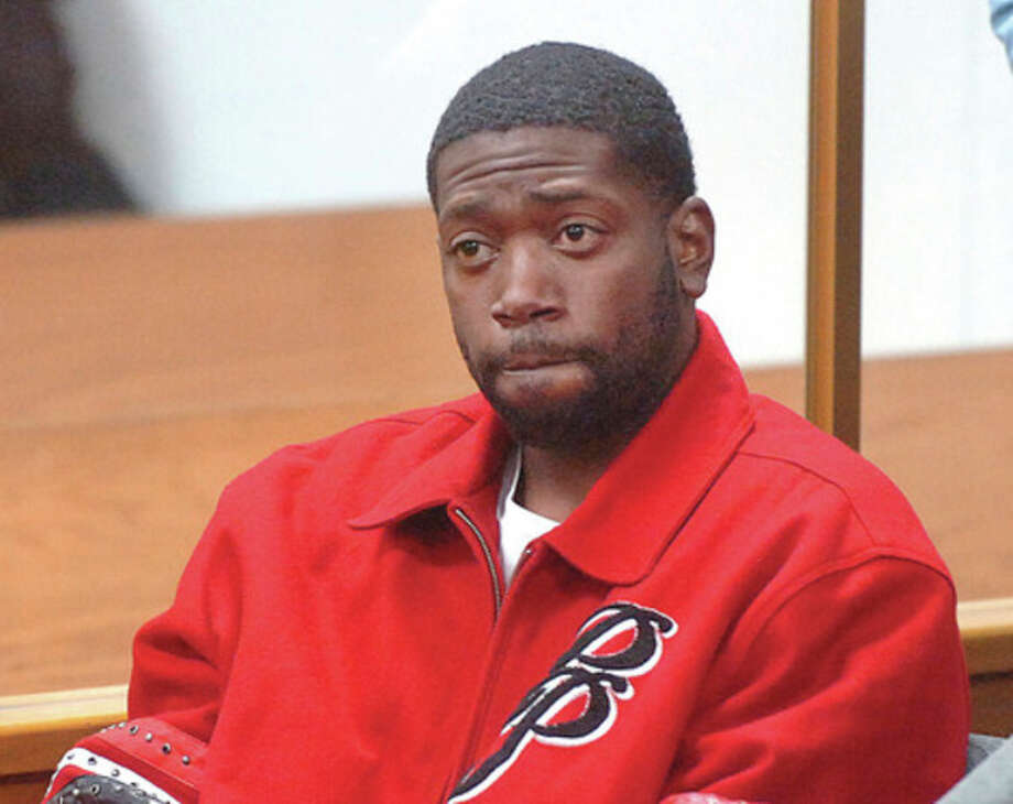 Hour Photo/ Alex von KleydorffAntoine Banks appears in Norwalk Superior Court for previous drug arrest. / 2013 The Hour Newspapers