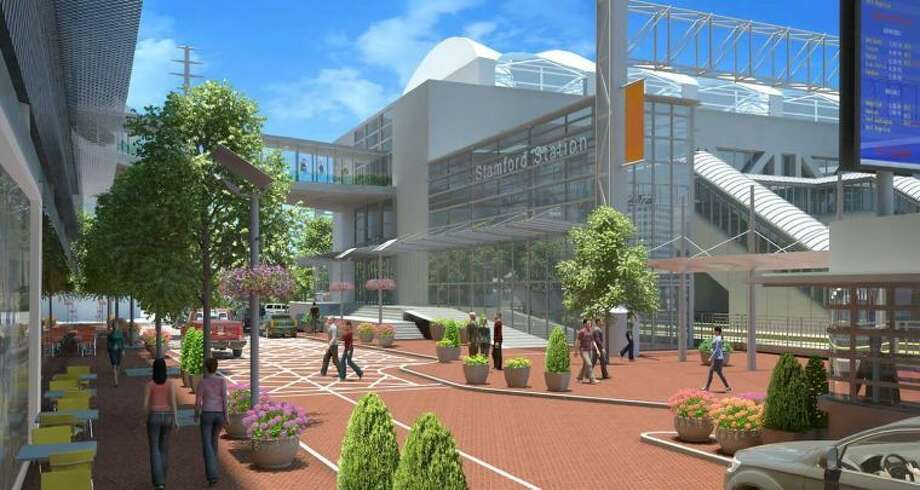 A local developer is proposing a $500 million project at the city's train station on South State Street. Above, a rendering of the development.