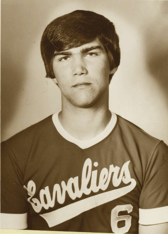 Norwalk's Marc Grenier back in 1983 when he won the city batting title. (Contributed photos)
