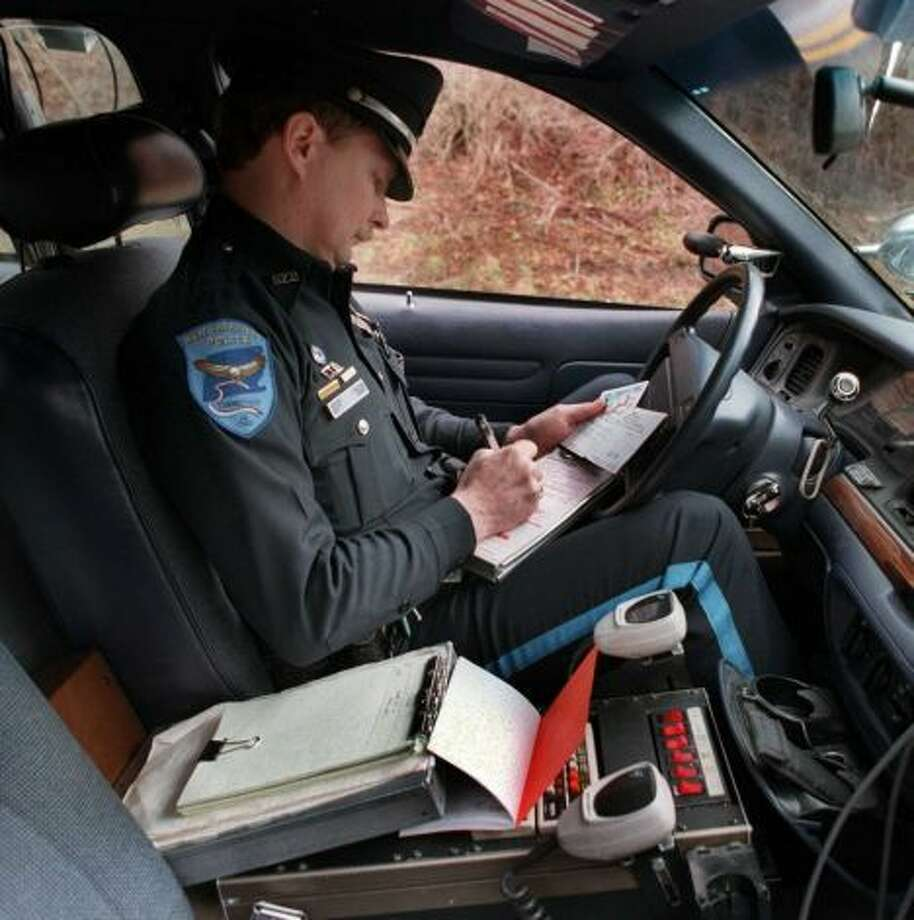 Click through the slideshow to see which towns stopped the most drivers for speeding, phone use, registration, and other infractions, according to a study from Central Connecticut State University. Let's start with overall traffic stops...