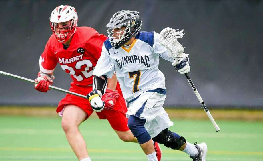Quinnipiac's Drew D'Antonio, a former McMahon standout, has been a key contributor for the Bobcats this season.