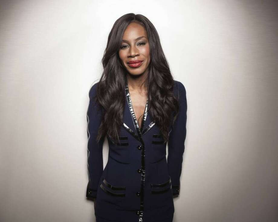 "Director of upcoming film, ""Belle,"" Amma Asante poses for a portrait on Saturday, April 26, 2014 in New York. (Photo by Taylor Jewell/Invision/AP)"