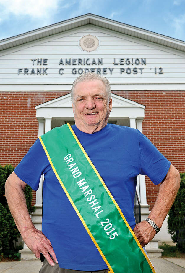 Hour photo / Erik Trautmann Army veteran Stan Remson has been voted Grand Marshal for this year's Memorial Day Parade.