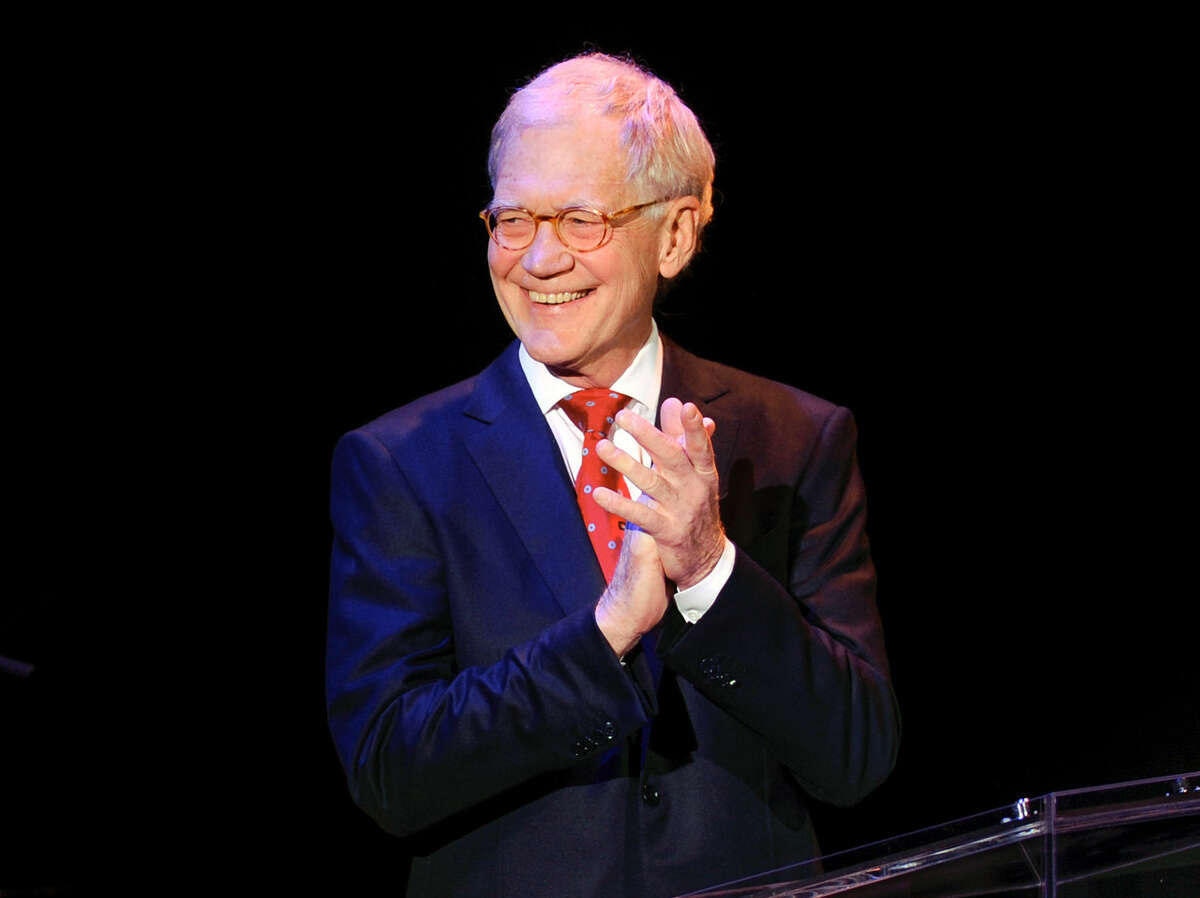 FILE - In this March 2, 2015 file photo, David Letterman attends