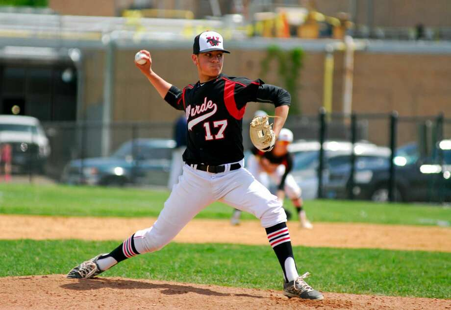 Warde pitcher Reece Maniscalco took a no-hitter into the sixth inning of Saturday's win over Staples.