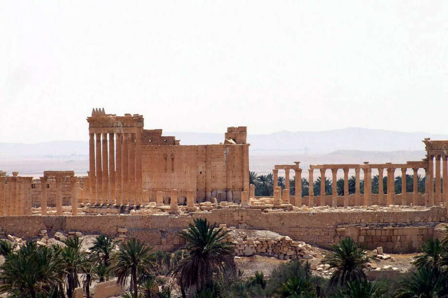 "This photo released on Sunday, May 17, 2015, by the Syrian official news agency SANA, shows the general view of the ancient Roman city of Palmyra, northeast of Damascus, Syria. A Syrian official said on Sunday that the situation is ""fully under control"" in Palmyra despite breaches by Islamic State militants who pushed into the historic town a day earlier. (SANA via AP)"