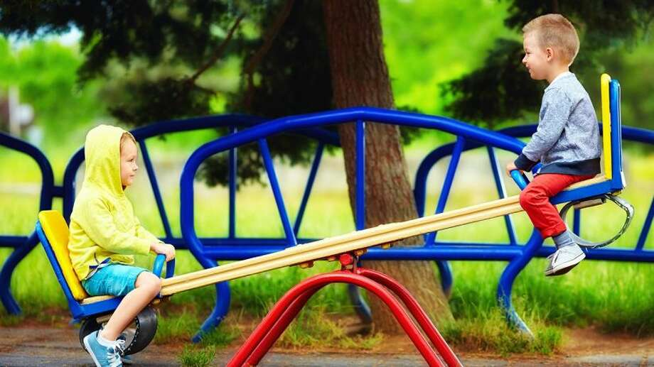 """Kentucky -A """"ridy-bob"""" is used to refer to a seesaw."""
