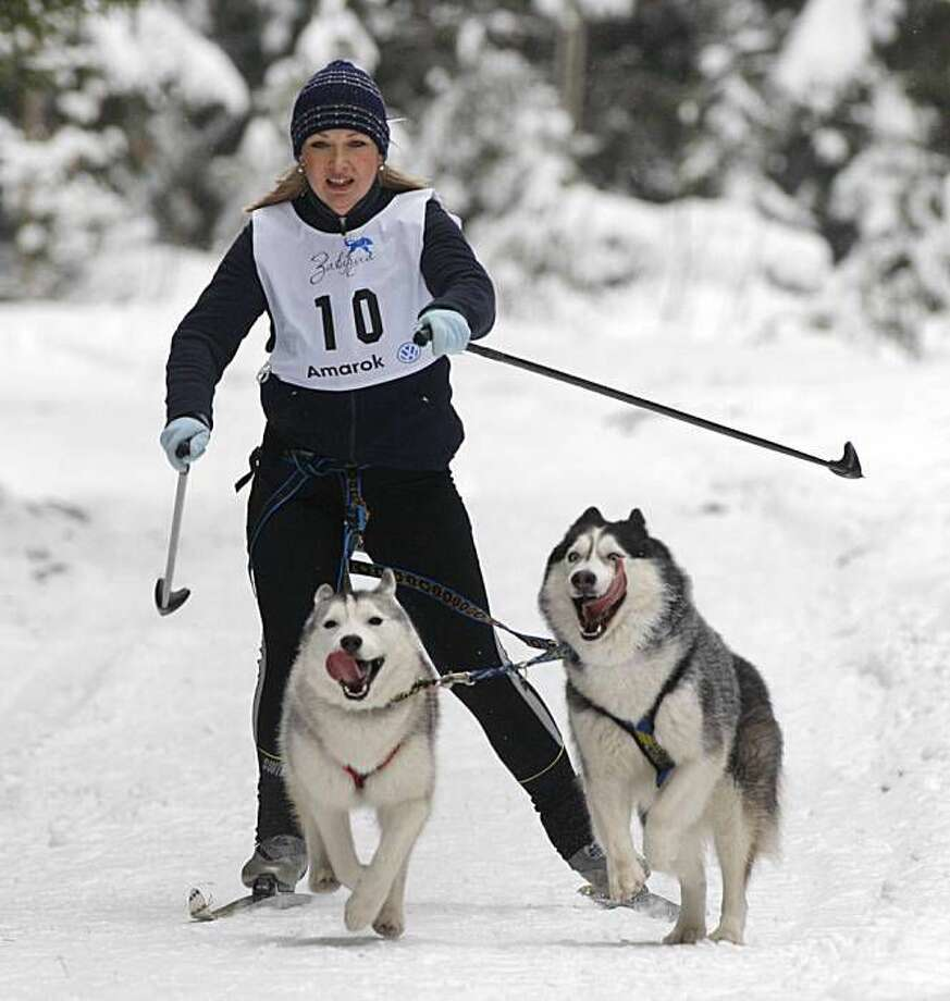 "Alaska - The term ""skijoring"" means ""being pulled on skis."""