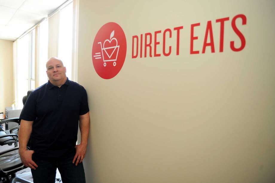 Direct Easts CEO David Hack at the company's Wilton offices in March 2016. (Photo: Michael Cummo / Hearst Connecticut Media)