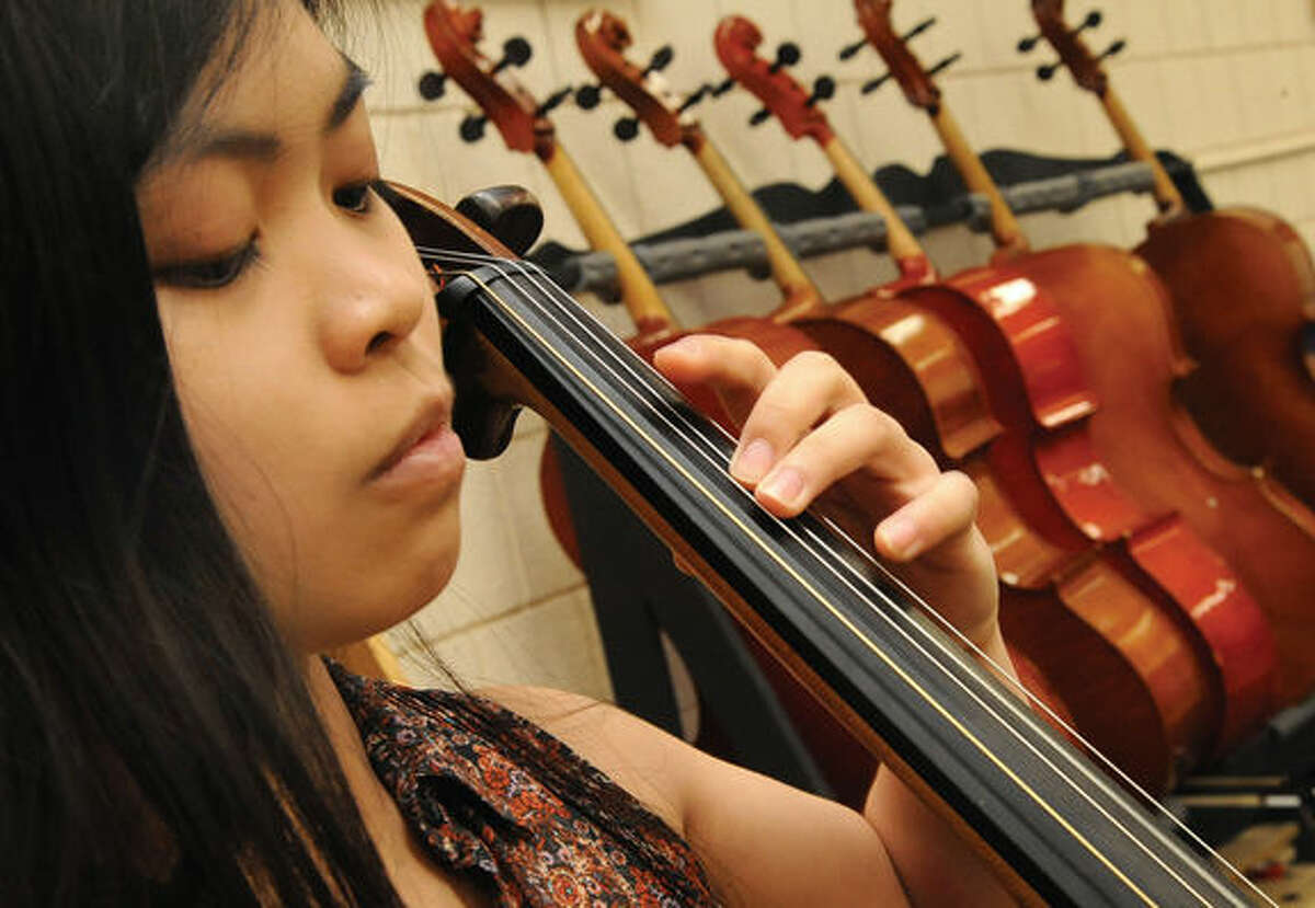Wilton High School cellist Isabella Palacpac will join a seven-city national tour of China after graduation; she is the only Connecticut student selected for this honor.