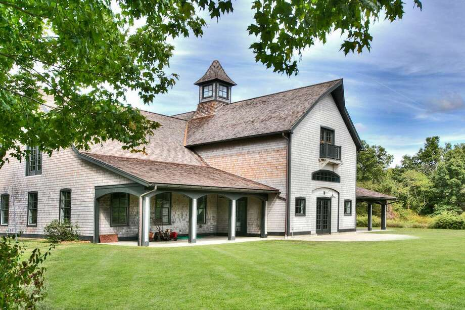 230 Poverty Hollow Rd, Redding, CT 06896 -6 beds 7 baths 6,385 sqft. Features:Stone walls, gardens, meadows, award-wining poolhouse and pool, barn/garage