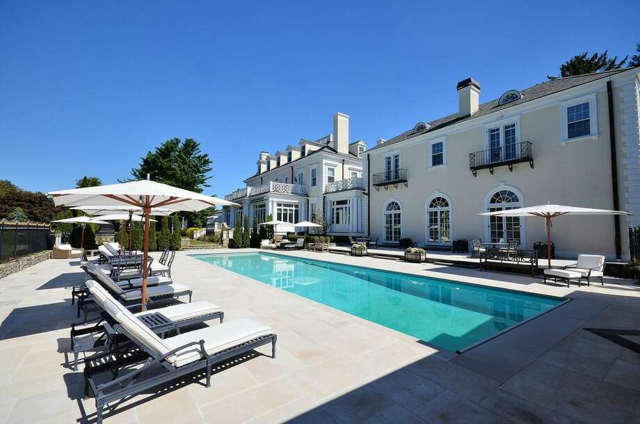 162 Old West Mountain Rd, Ridgefield, CT 06877 -8 beds 10 baths 14,722 sqft. Features: Ballroom opens to gardens and pool,notable owners including Houdini's brother, actor and Robert Vaughan, considered as a site for the United Nations