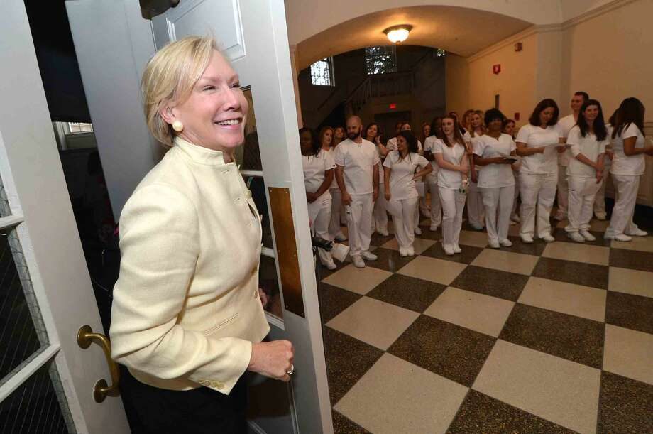 Norwalk Community College Nursing Class of 2016 Pinning Ceremony at City Hall in Norwalk Conn. Tuesday May 17, 2016