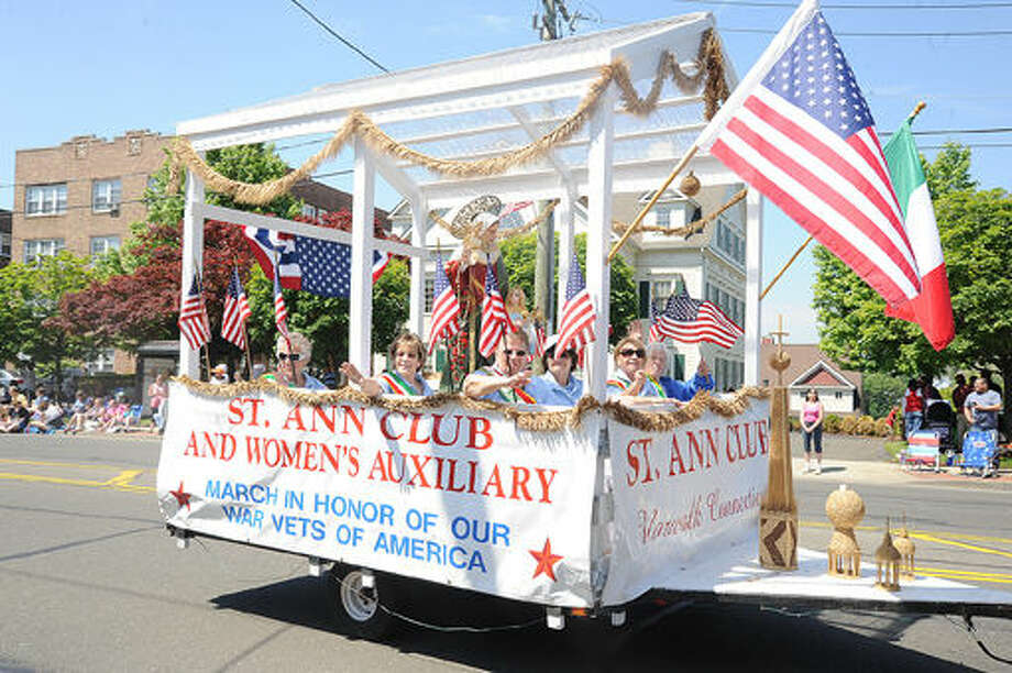The St. Ann Club at the 2015 Memorial Day Parade in Norwalk. Hour photo/Matthew Vinci