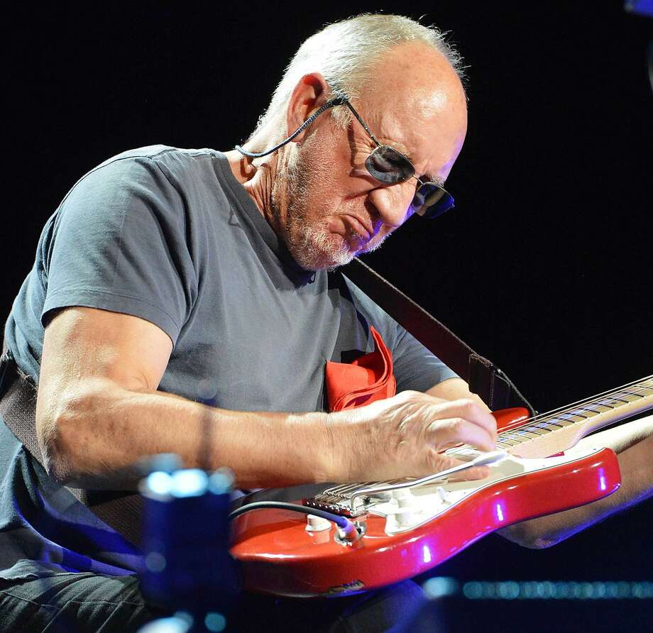 Hour Photo/Alex von Kleydorff Pete Townshend solos during My Generation, a hit for The Who 50 years ago. That song, along with a lifetime of music for their fans during the bands stop at The Mohegan Sun Arena on their 'Who hits 50' tour to celebrate the bands Golden anniversary