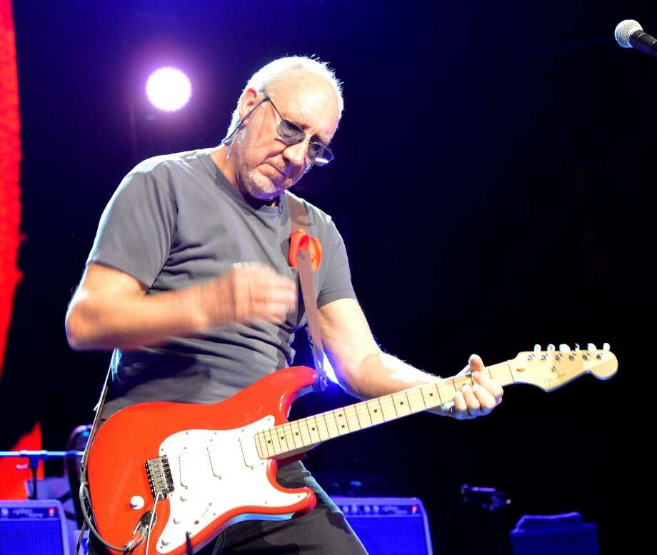 Hour Photo/Alex von Kleydorff. Muisc legends The Who celebrate their Anniversary on tour, 'The Who Hits 50' playing their classic songs Sunday night at Mohegan Sun Arena