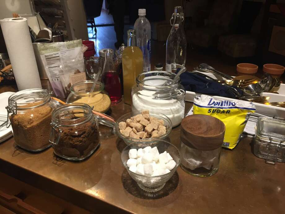 Each episode centers around a major theme or ingredient and provides recipes to go along with it. One of the episodes being filmed addresses the topic of sugar. (Photo: Contributed)