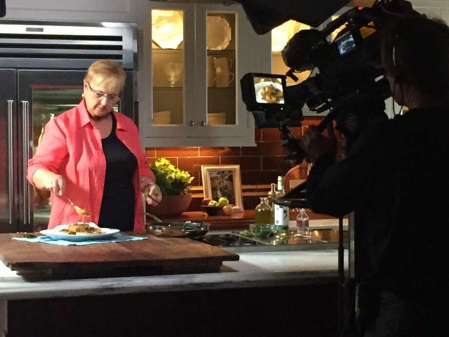 Lidia Bastianich recently filmed 26 episodes for the fourth season of Lidia's Kitchen at Clarke Kitchens in Norwalk. (Photo: Contributed)