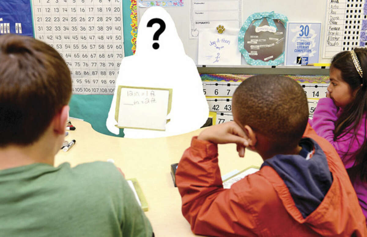 Hour photo illustration/Erik Trautmann Numbers across the state, including in Norwalk, are continuing to show disproportionate numbers when it comes to minority teachers versus students.