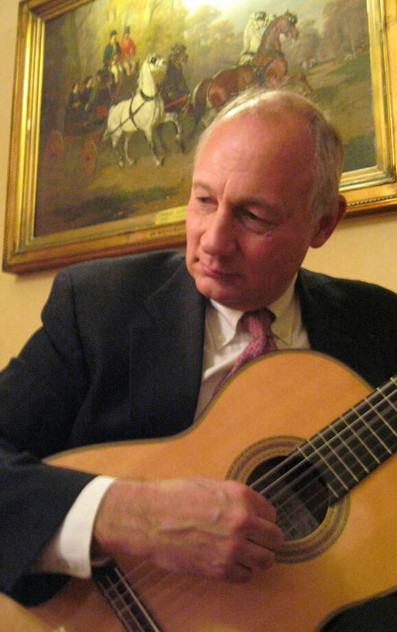 Guitarist John Lehmann-Haupt performs in Wilton Library's Connecticut's Own concert on Sunday, June 7, from 4-5 p.m. His program consists of classical and traditional arrangements. The concert is free of charge; registration is suggested.