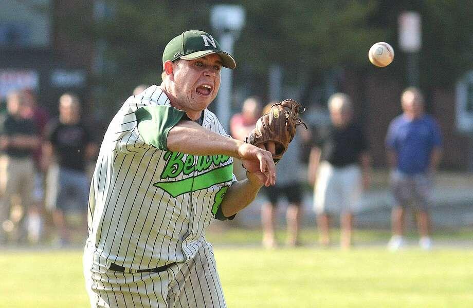 Hour Photo/Alex von Kleydorff Wilton at Norwalk baseball