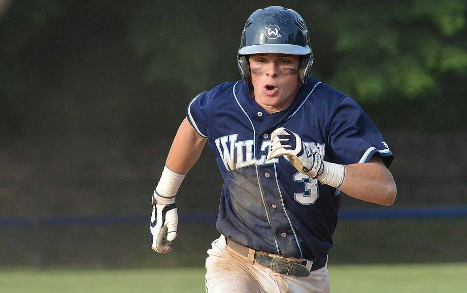 Hour Photo/Alex von Kleydorff Wilton at Norwalk baseball