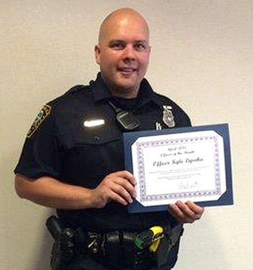 Contributed photo Norwalk Police Officer of the Month, Kyle Lipeika.